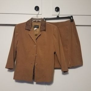 Other - Suede Suit